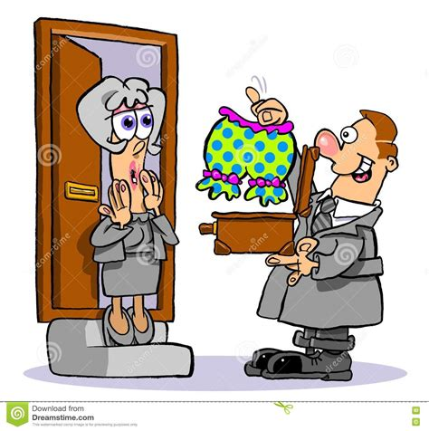 Door Salesman by Door To Door Salesman Stock Image Image 76472315