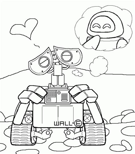 wall e coloring pages walle picture az coloring pages