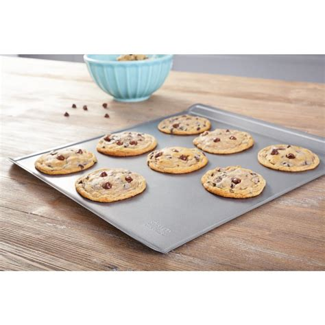 Simple Tip Use Two Cookie Sheets by Commercial Ii Large Cookie Sheet 59614 The Home Depot