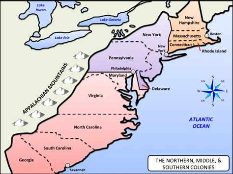 southern colonies map search results for map of the 13 colonies printable