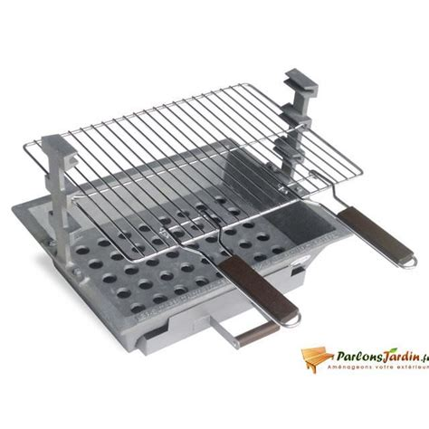 Foyer Barbecue Encastrable 249 by Barbecue 224 Charbon De Bois En Fonte Tarbes Achat Vente