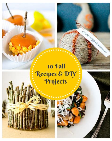 diy projects for fall 10 fall recipes and diy projects by domestically blissful
