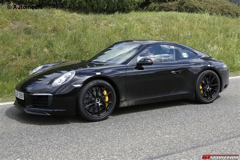 camo porsche 911 porsche 911 facelift spy shots without camo gtspirit