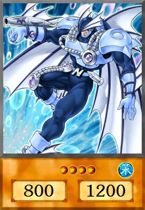 Elemental Hero Neo Bubbleman by Melanochrome on DeviantArt