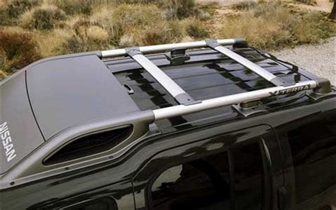 Cross Bar Model Jepit Mobil Nissan X Trail 2019 2005 nissan xterra roof rack view photo 4