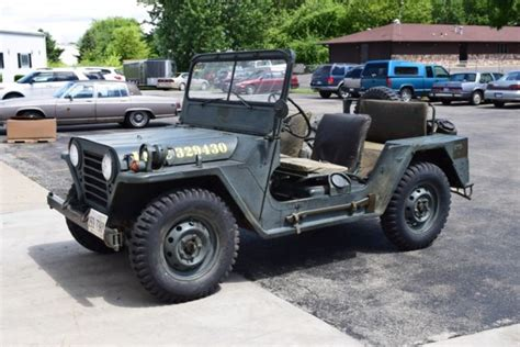 m151a1 jeep 1966 jeep m151a1 rare usmc mutt model w accessories usa