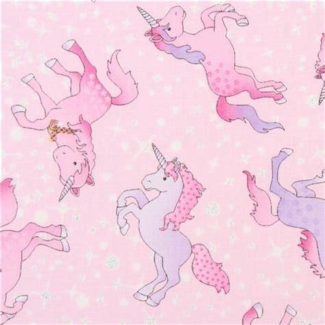 pastel unicorn pattern pink unicorn fabric with glitter timeless treasures usa