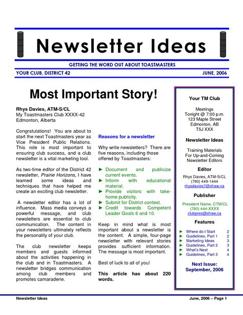 You Can T Win Customers With A Boring Newsletter How To Write A Newsletter Template