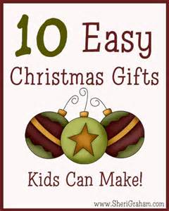 10 easy christmas gifts kids can make sheri graham