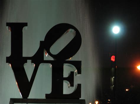 philadelphia love park  night source   visit