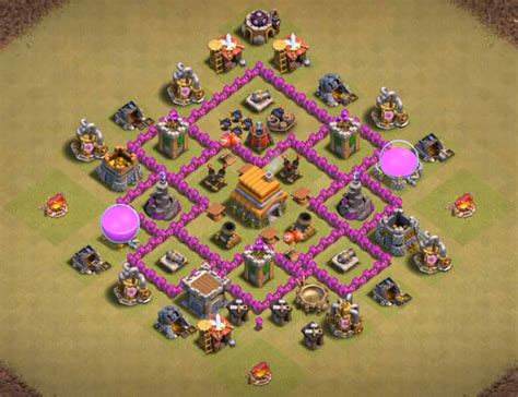 best th6 base 2016 top 12 best town hall th 6 war bases anti everything 2018