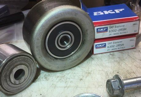 Bearing Tensioner 6302 Diskon diy replacing the bearings in the idler tensioner pulleys tacoma world