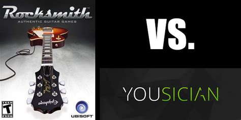 learn guitar yousician rocksmith vs yousician guitarbots review guitar games