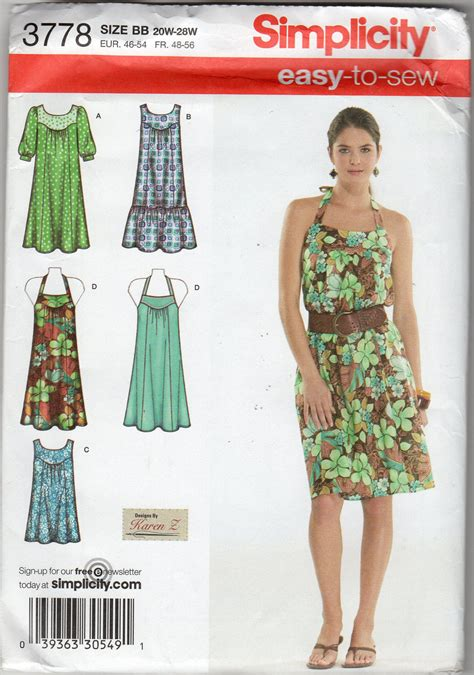 simple gown pattern women s easy dress halter dress tunic pattern size