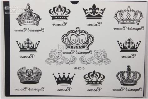 Aneka Tato Temporer All Variants Of Temporary crown images designs