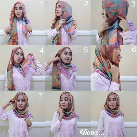 tutorial hijab pashmina simple bahan satin hijab tutorial pashmina kashmir