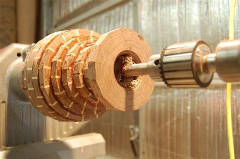 woodworking turning woodturning a segmented vase of walnut and maple 1