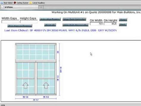 drapery design software surefire online window and door design software demo