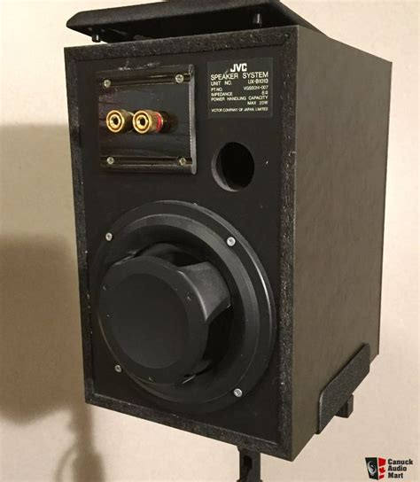modified jvc uxb1013 bookshelf speakers stands included
