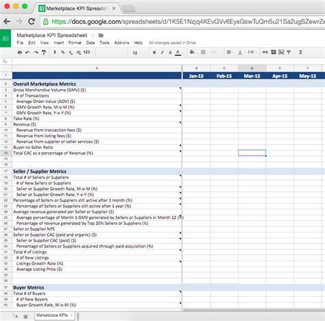 Kpi Spreadsheet Template Spreadsheet Templates for Busines