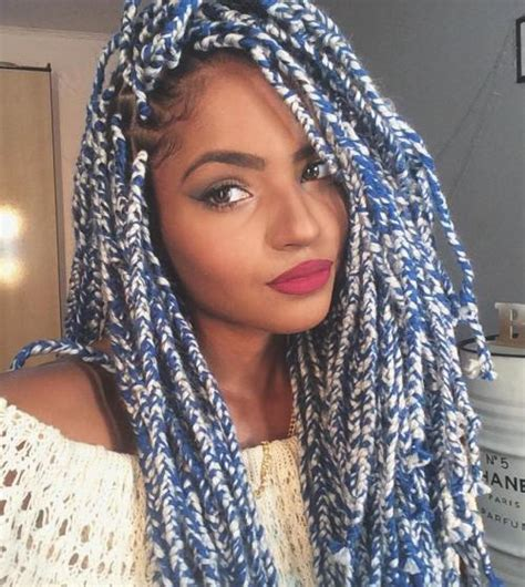 hairstyles for yarn braids 20 cosy hairstyles with yarn braids