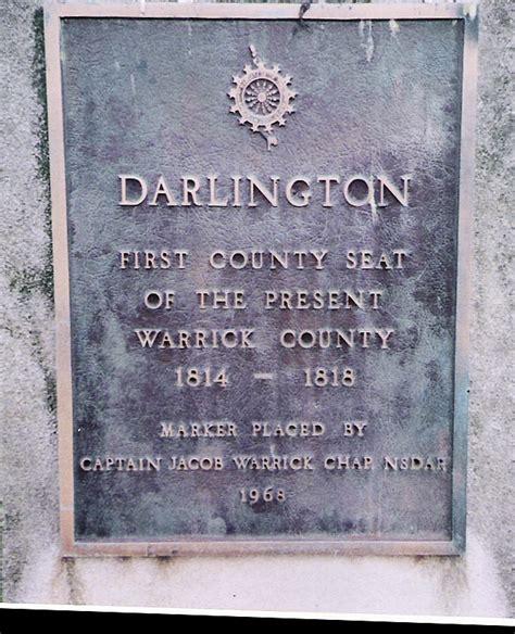 Warrick County Court Records Darlington