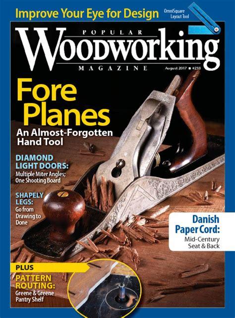 popular woodworking magazine turning wood