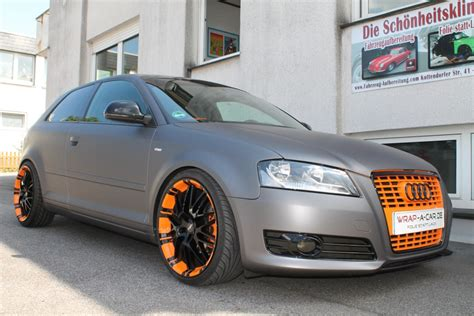 Autofolie 4 You by Audi A 3 Folierung Matt Grau Autofolierung Nrw Wrap A Car