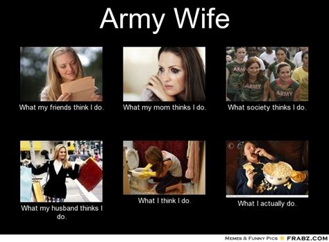 Military Wives Meme - army wife meme generator what i do