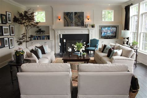 2 couches in living room love this furniture layout for the family room for