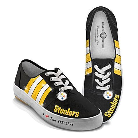 pittsburgh steelers sneakers nfl licensed pittsburgh steelers s canvas sneakers