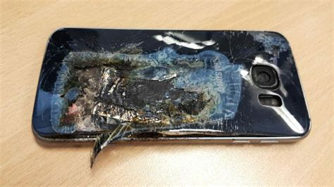 A Samsung Galaxy S10 Has Exploded by Samsung Galaxy S6 Explodes In South S Pocket