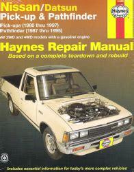 online auto repair manual 2002 nissan pathfinder head up display 1980 1997 nissan datsun pick up pathfinder haynes repair manual