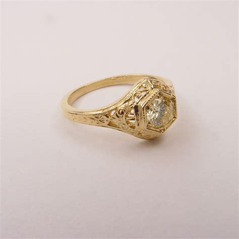 128 6fbbr pre set antique filigree ring 52ct