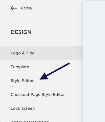 squarespace templates with sidebar choice image