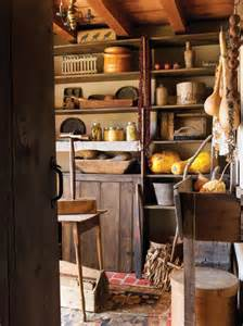 Pantry In House Folk In A Reproduction Saltbox House