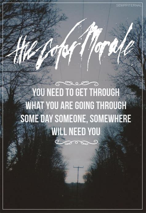 The Color Morale Strange Comfort Lyrics by The Color Morale Lyric