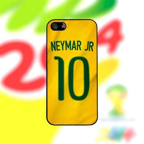 Fcb Barcelona Jersey Away 2011 Iphone 5c Casing Cover Neymar Jr Brazil Iphone 5c Cover Neymar