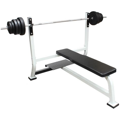 weight bench with bar gym weight lifting bench for shoulder chest press home