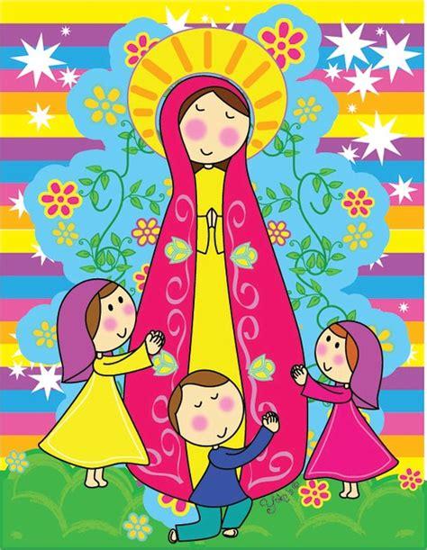 imagenes virgen maria en caricatura virgen de fatima caricatura para colorear imagui