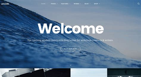 themeforest uncode 20 best multipurpose wordpress themes good for just about