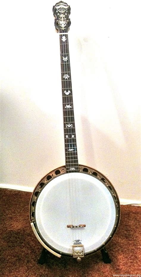 String For Sale - paramount 4 string plectrum banjo used banjo for sale at