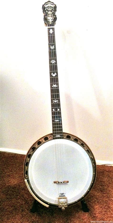 String For Sale - paramount 4 string plectrum banjo used banjo for sale at