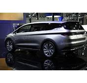 Shanghai Show Geely Gears Up Six Seat MPV Concept  GoAuto