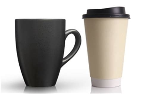 mug vs cup disposable coffee cups vs ceramic mugs green lifestyle