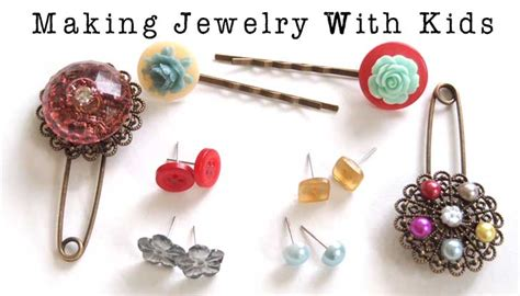 jewelry you can make easy glued jewelry can make woo jr activities