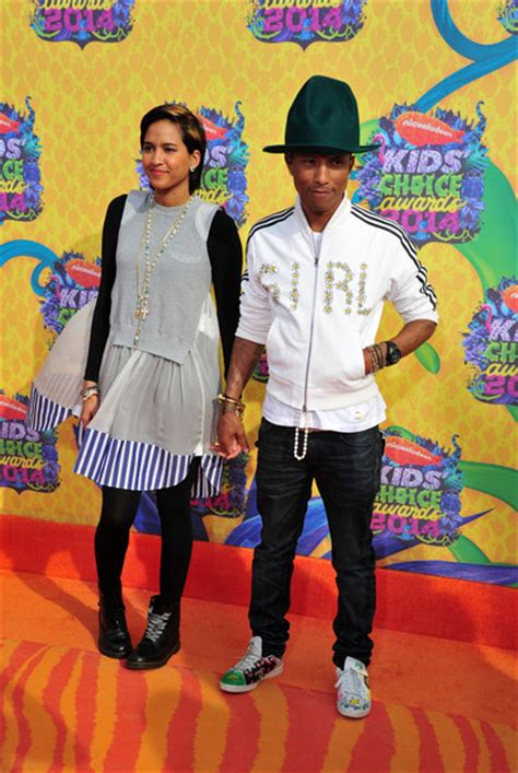 pharrell williams wife and kids pharrell williams and helen lasichanh photos photos