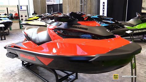 sea doo jet boats 2017 2017 sea doo rxt x 300 jet ski walkaround 2017