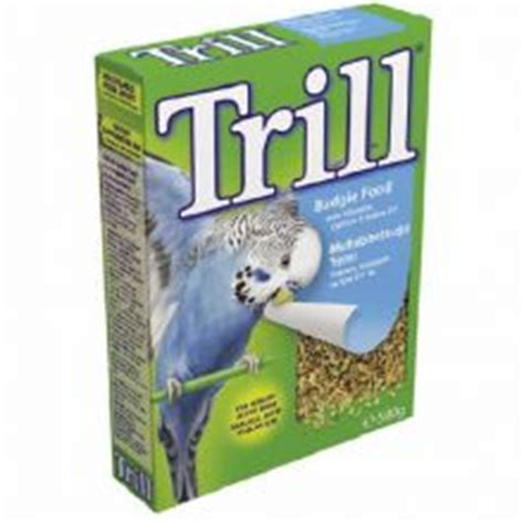 trill bird seed trill budgie seed 500g foods gt bird seed bestpets