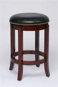 nailhead leather bar stools swivel counter stools dining room furniture cherry bargainmaxx com